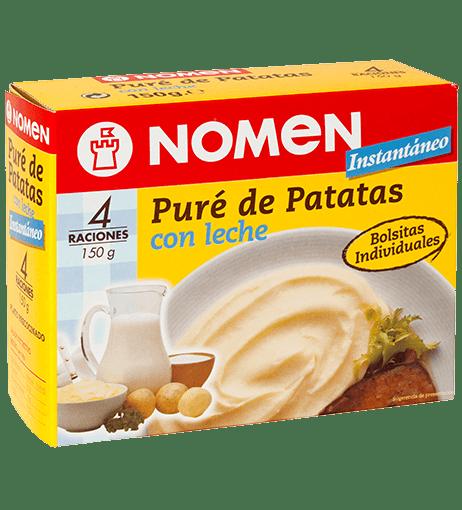 PURÉ DE PATATES AMB LLET