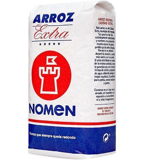 ARROZ REDONDO EXTRA NOMEN