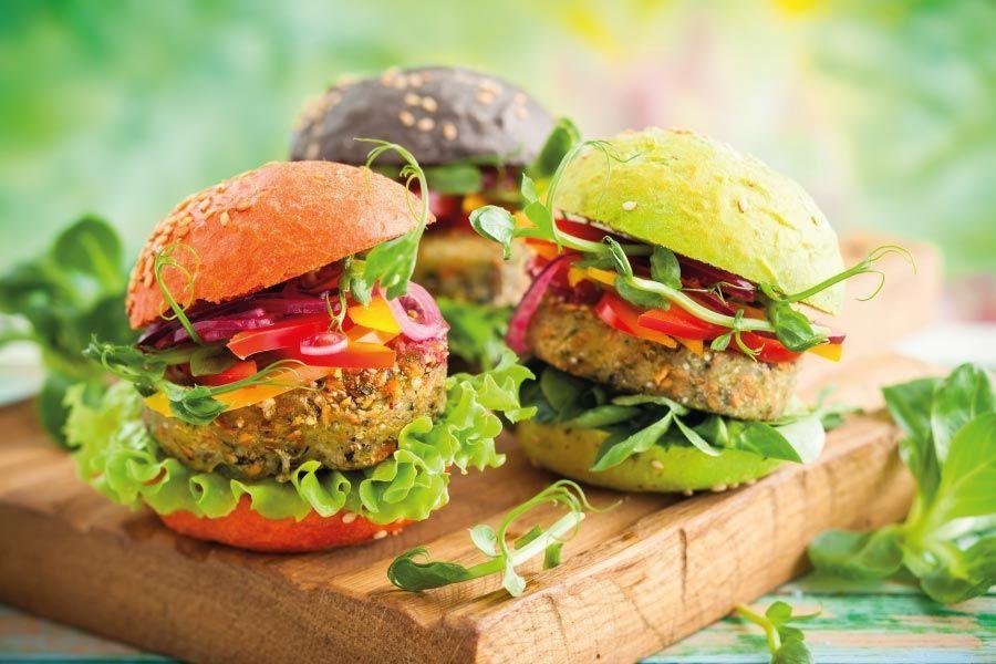 ¿Te animas a hacer hamburguesas vegetarianas?