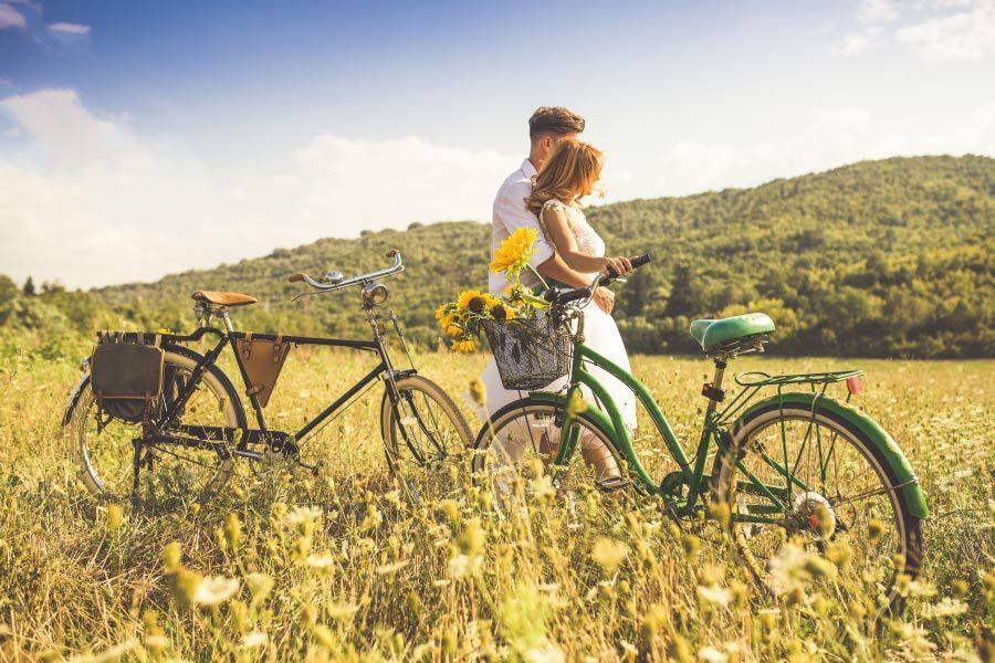 Aprovecha los beneficios de ir en bici