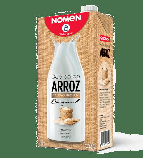 Batut de beguda d'arròs, pera i canyella