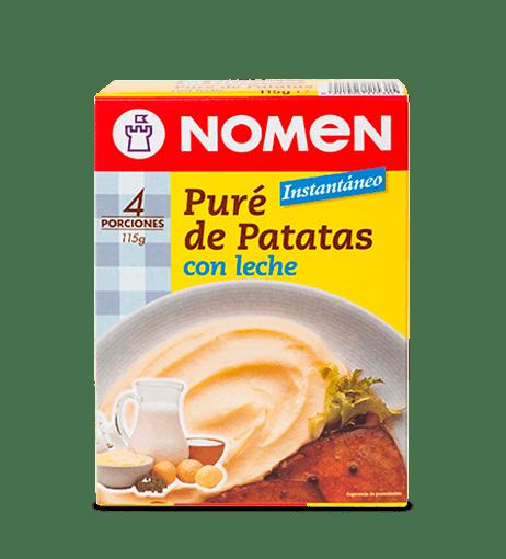 PURÉ DE PATATAS CON LECHE