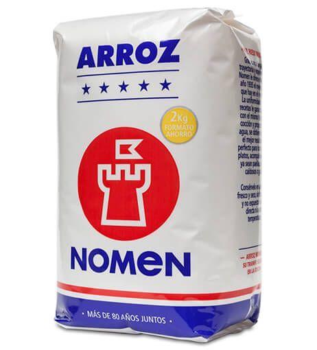 ARROZ REDONDO DE 2 KG NOMEN