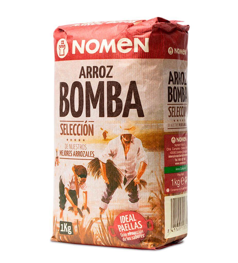 ARROZ BOMBA NOMEN