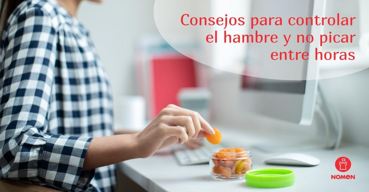 consejos para controlar el hambre