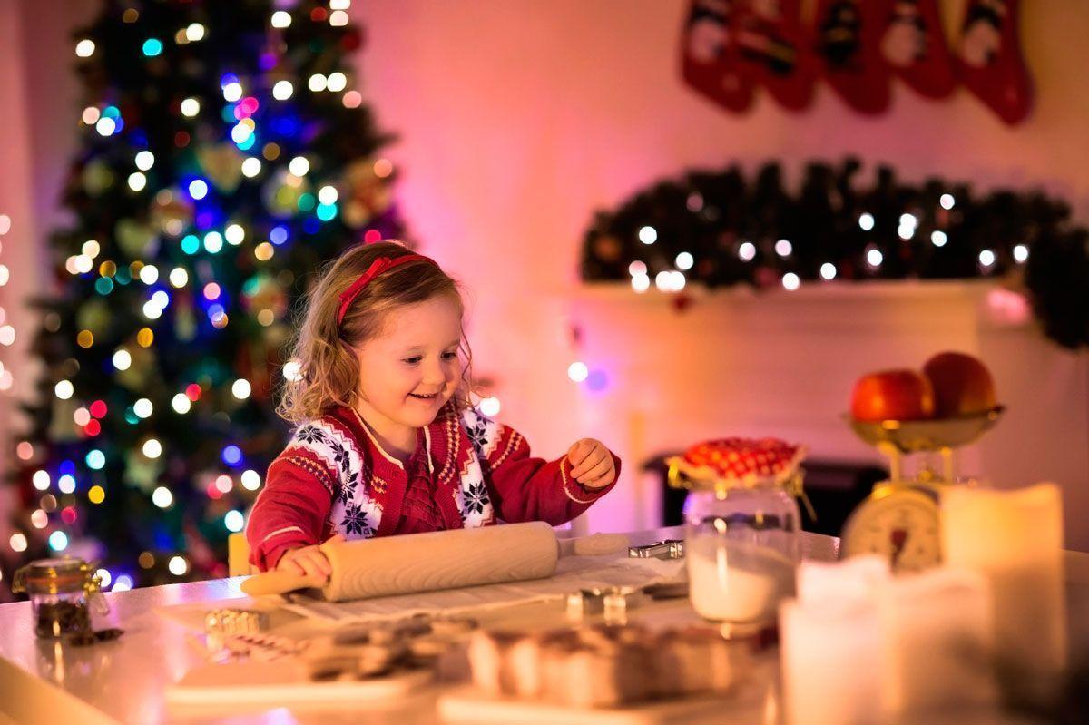 Esta Navidad, ¡cocina con tus hijos!