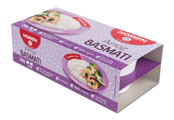 VASITOS DE ARROZ BASMATI