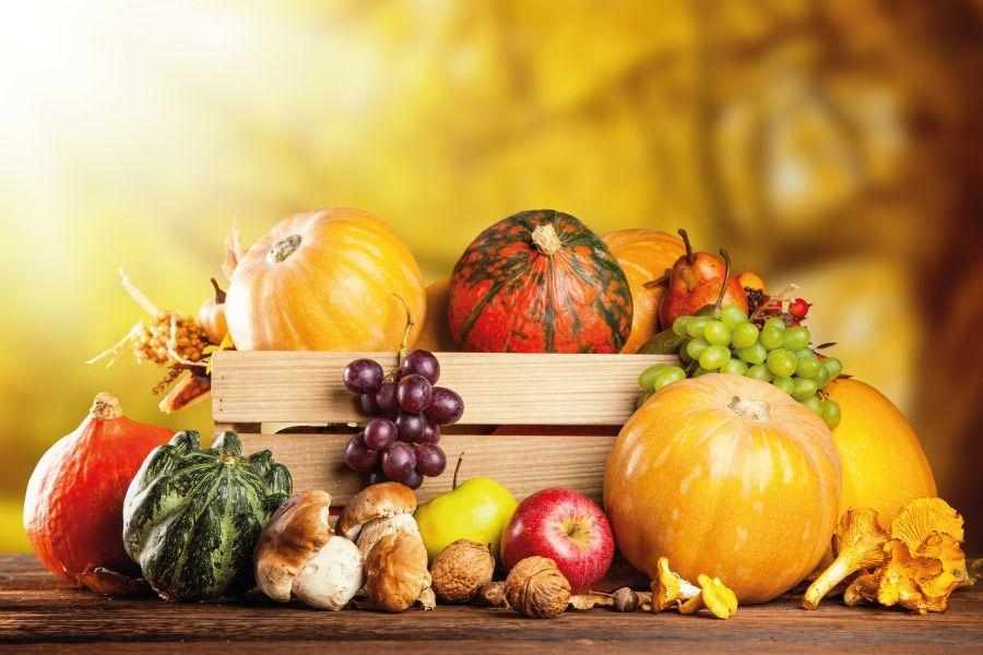 ¡Disfruta de las frutas de otoño!