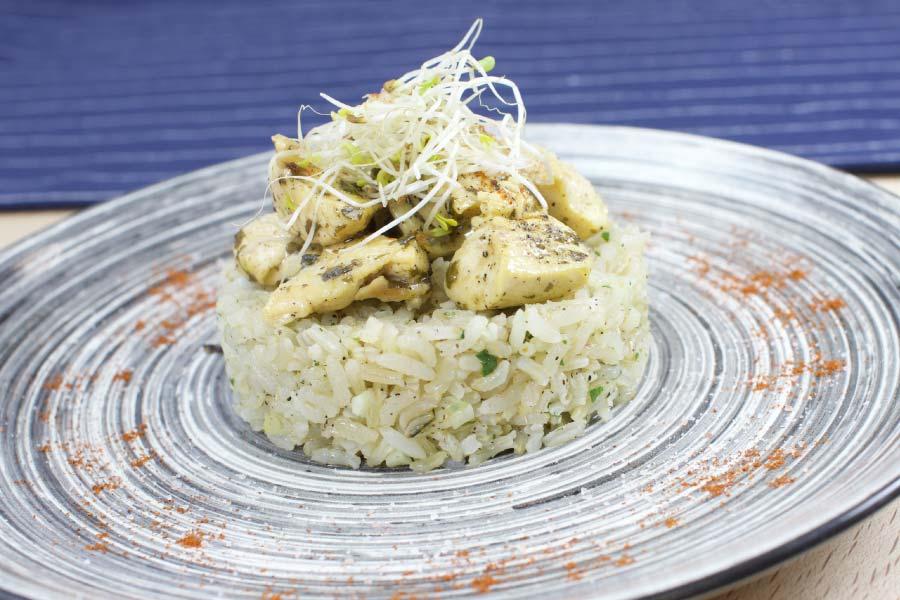 arroz con pollo a la lima