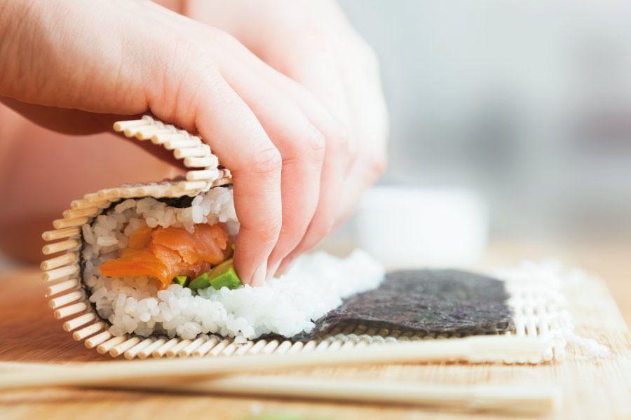 Aprèn a preparar sushi