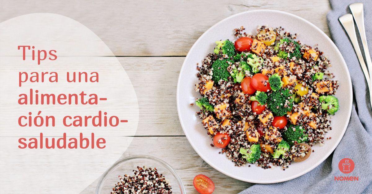 alimentación cardio saludable