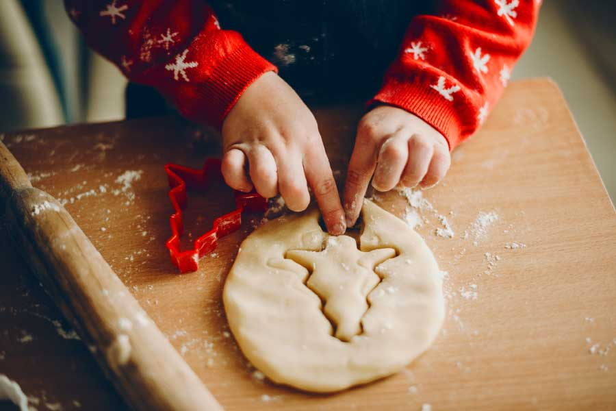 Aprovecha las vacaciones de Navidad para que los peques se involucren en la cocina
