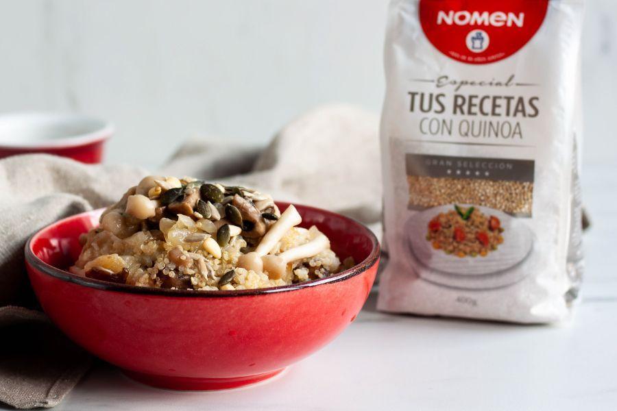 Quisotto hecho con quinoa