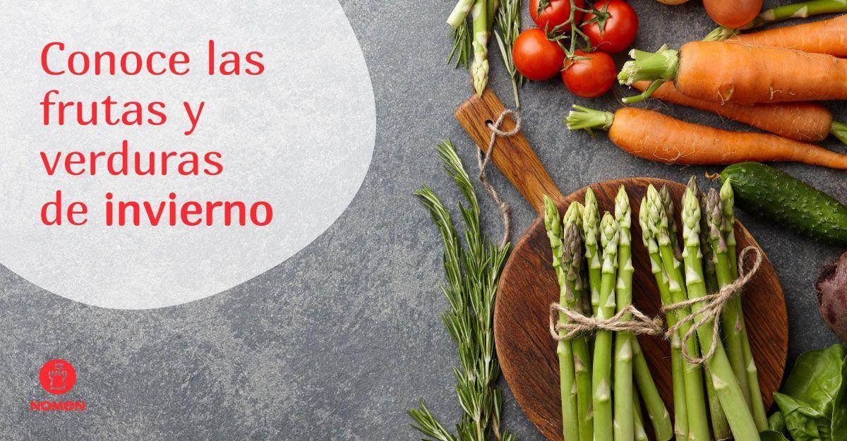 las frutas y verduras de invierno