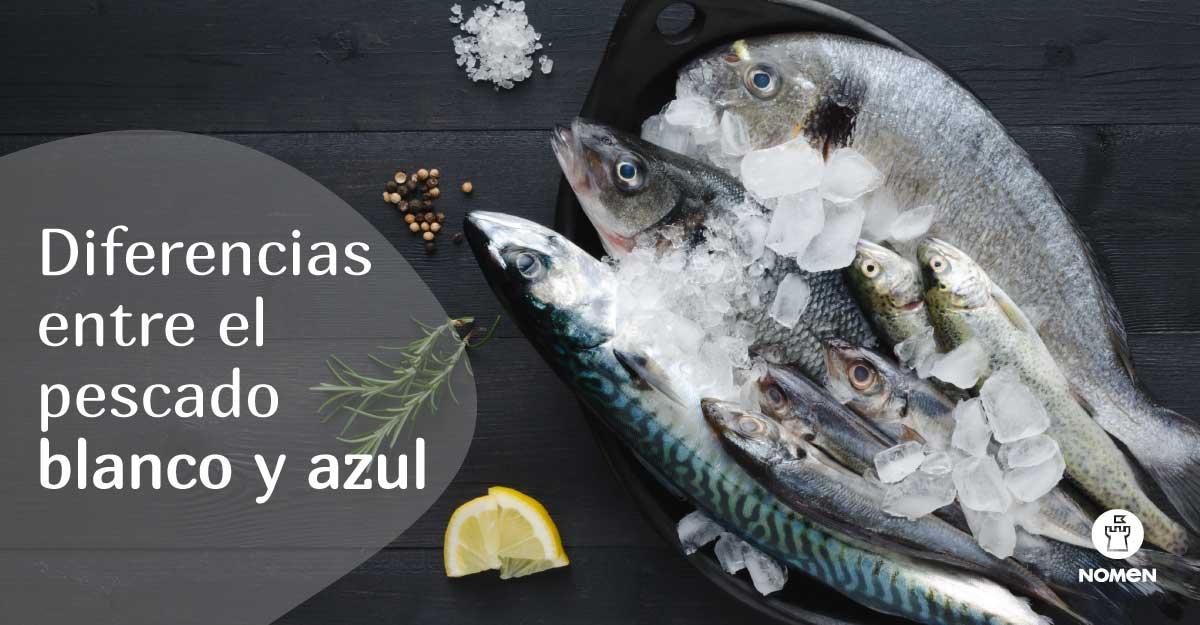 diferencias entre el pescado blanco y azul