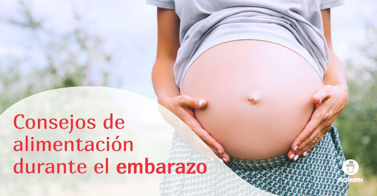 Consejos de alimentación durante el embarazo