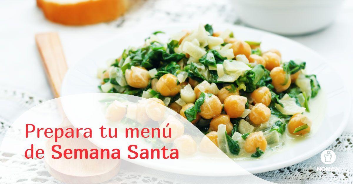 Menú saludable para la Semana Santa
