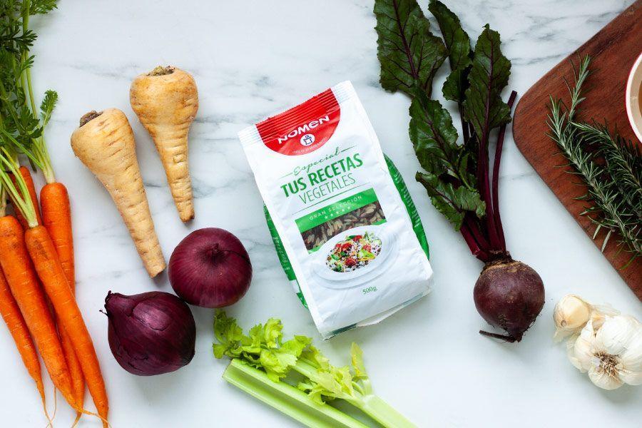 Receta arroz con verduras al horno ingredientes