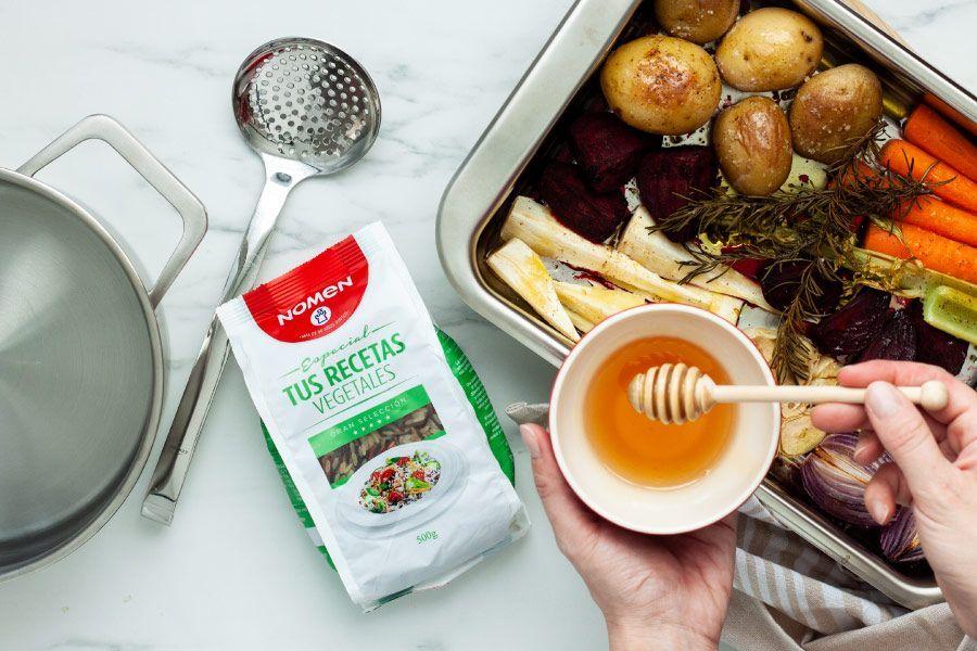 receta de arroz con verduras al horno, paso 2