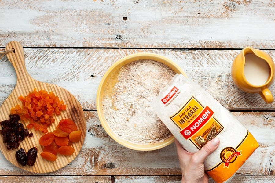 Receta mugcake echar harina