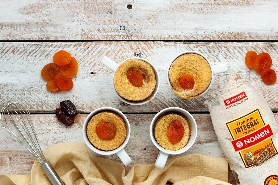 Receta mugcake microondas