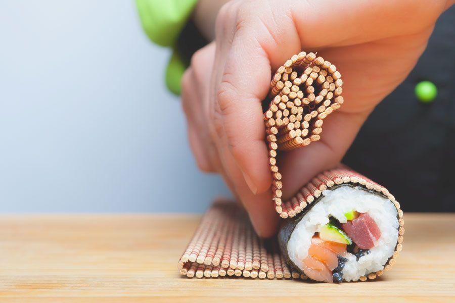 Aprende a preparar sushi