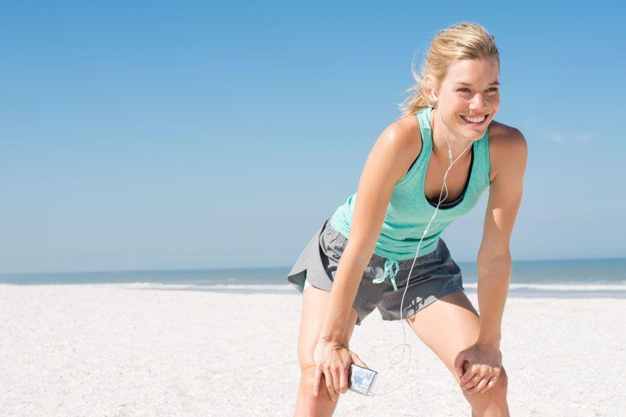 Practica actividad física también en verano