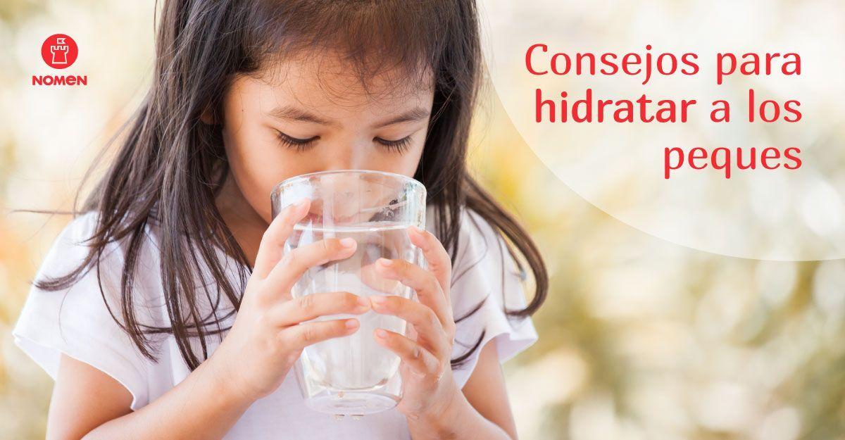 Consejos para hidratar a los peques