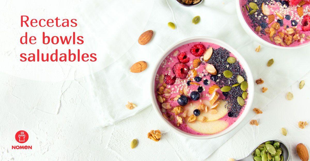recetas de bowls saludables