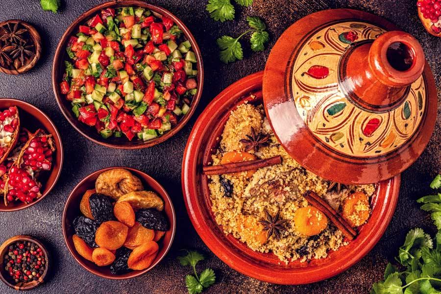 Conoce las características de la gastronomía marroquí