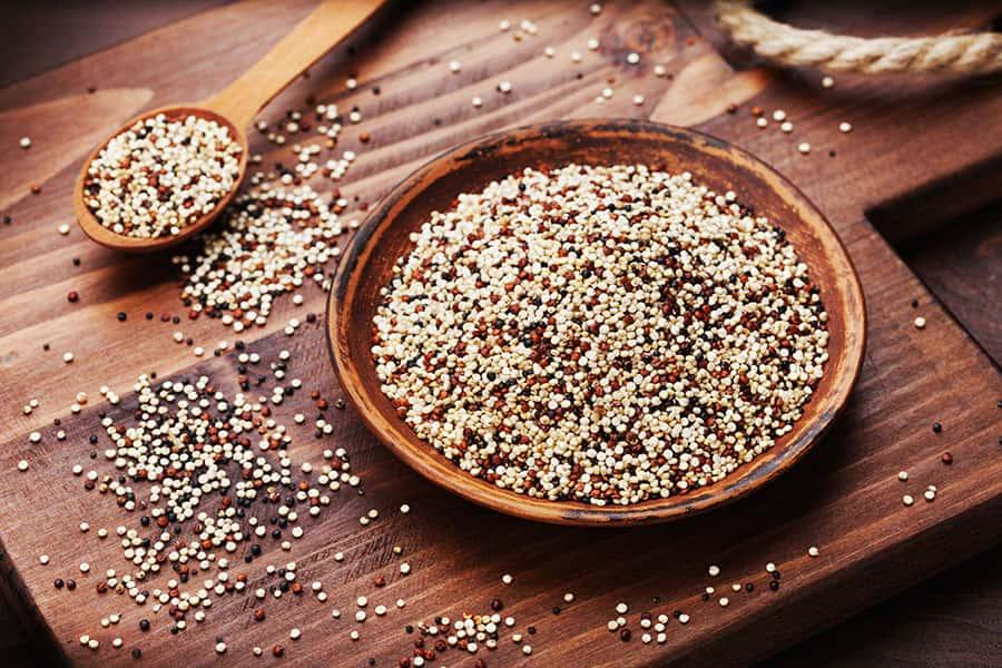 2 postres delicioses amb quinoa