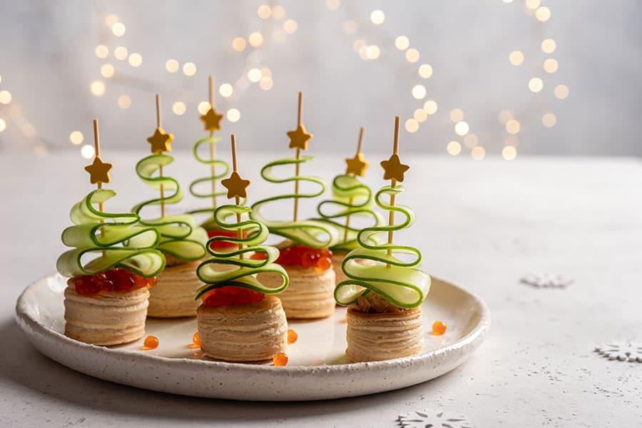 5 aperitius fàcils de Nadal: queda com un xef