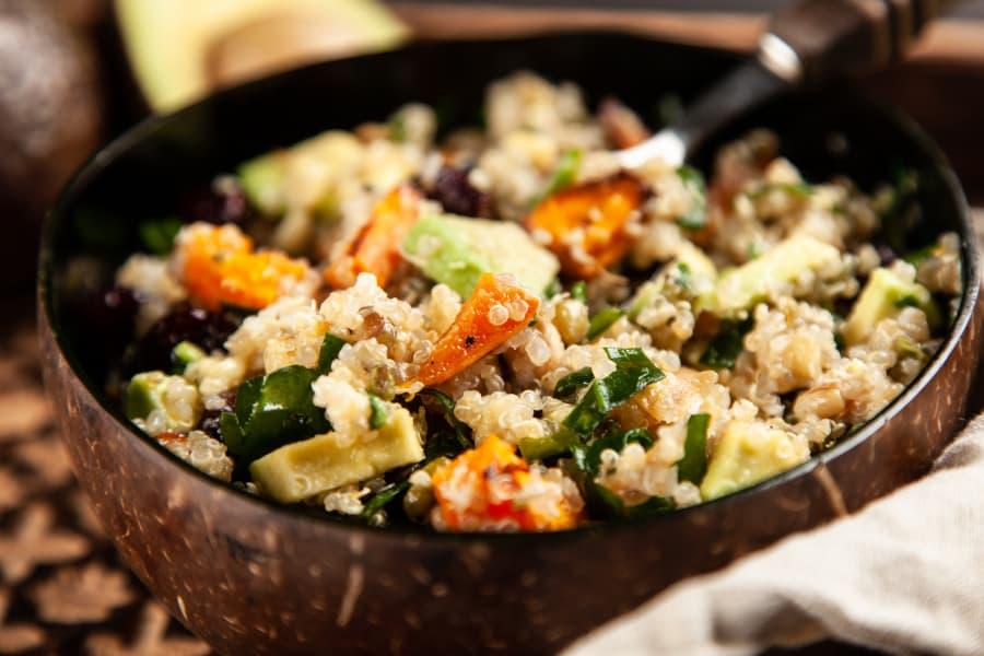 Platos con quinoa