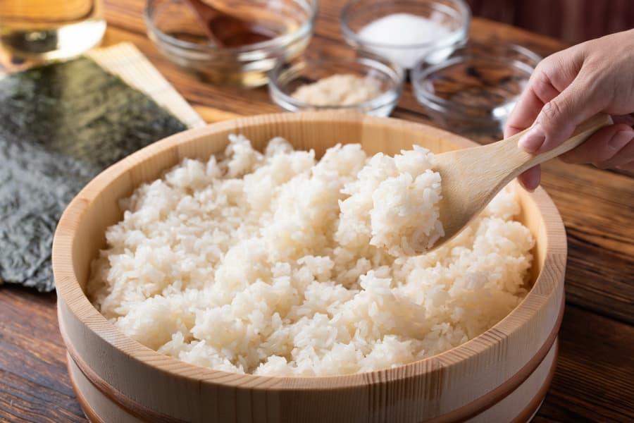 Consejos arroz para sushi