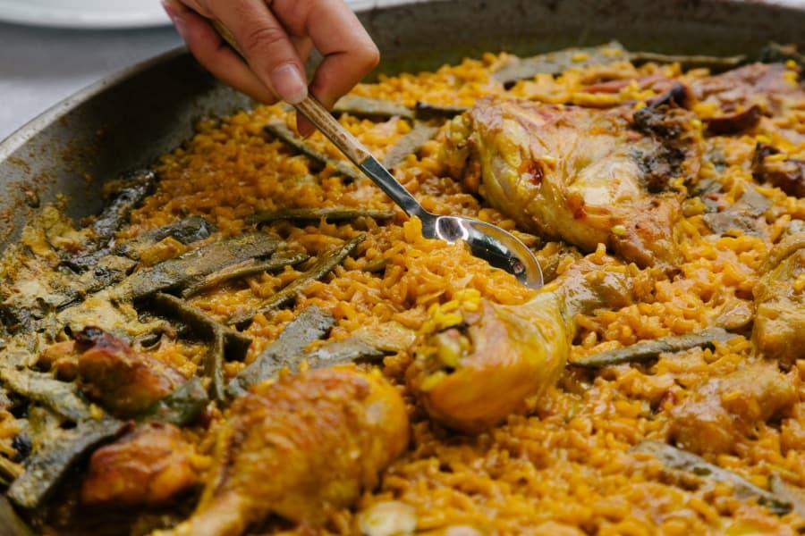 Paellas con el mejor arroz, Nomen ¿De verduras, de carne o de pescado?